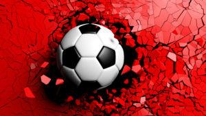 Schwarzrot Fussball