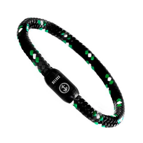 SEEOXX schwarz weiß grün jupp 6mm schwarz